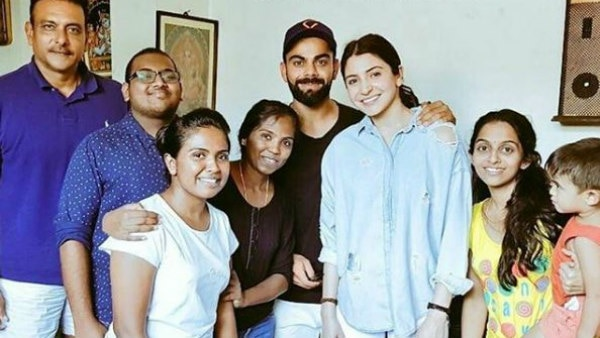 Anushka Sharma spotted with Virat Kohli in Sri Lanka!