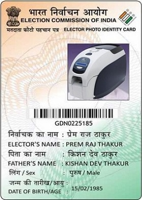 3-how to get Colour voter ID card in India
