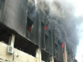 સુરત: સુહાગ ડાઈંગ મીલમાં ભીષણ આગ, 4 ફાયર ફાઈટર ઘટના સ્થળે