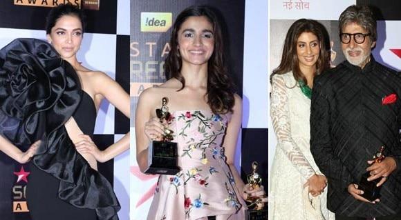 PICS: સ્ટાર સ્ક્રીન અવોર્ડઝમાં આવો હતો દિપીકા-આલિયાનો અંદાજ, SRK-સલમાન બન્યા હોસ્ટ