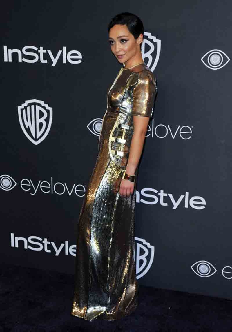 US-ENTERTAINMENT-GOLDEN GLOBE-IN STYLE-WARNER-PARTY
