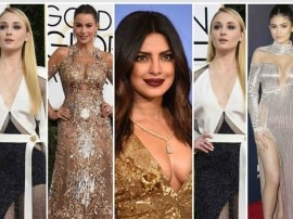 Golden Globe 2017: રેડ કાર્પેટ પર આવી હતી અભિનેત્રીઓની અદા, પ્રિયંકા ફરી છવાઈ