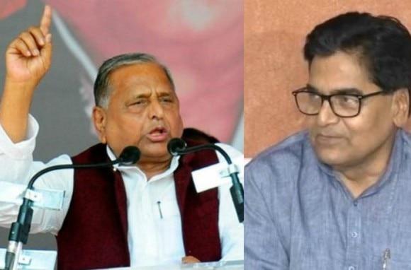 પક્ષના 'દંગલ' પર બોલ્યા મુલાયમ, કહ્યું- BJP સાથે મળીને SPને તોડવામાં લાગ્યા છે રામગોપાલ