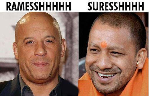 1-Twitter Has A Field Day Comparing Yogi Adityanath To Vin Diesel