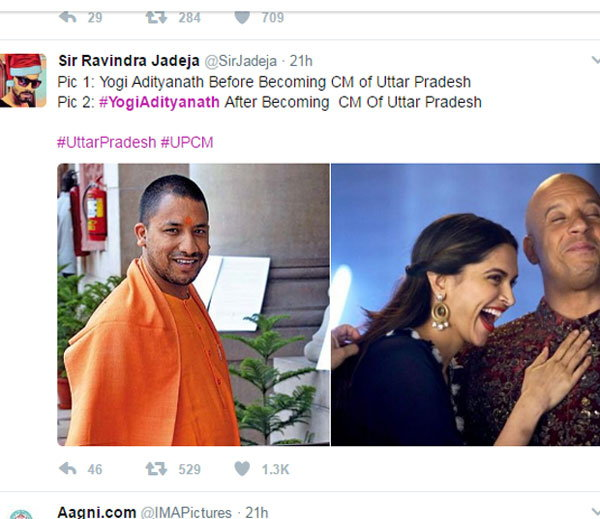 4-Twitter Has A Field Day Comparing Yogi Adityanath To Vin Diesel
