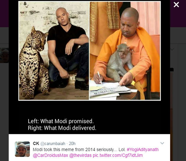 6-Twitter Has A Field Day Comparing Yogi Adityanath To Vin Diesel