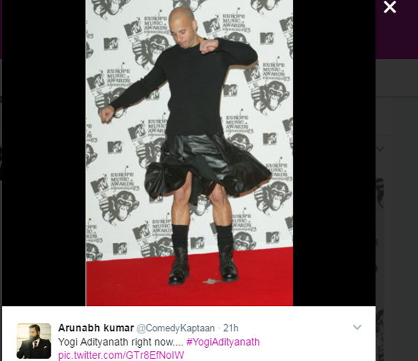 7-Twitter Has A Field Day Comparing Yogi Adityanath To Vin Diesel