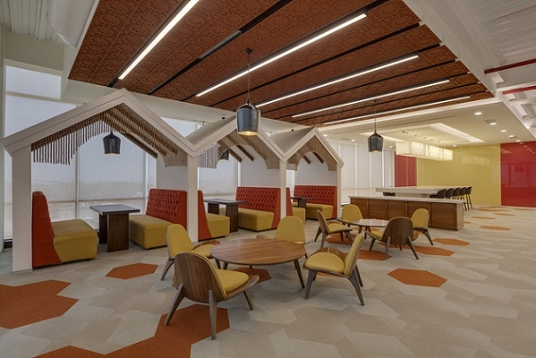 1-See inside pics of Reliance Jio Infocomm Headquarter's at Navi Mumbai