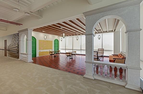 8-See inside pics of Reliance Jio Infocomm Headquarter's at Navi Mumbai