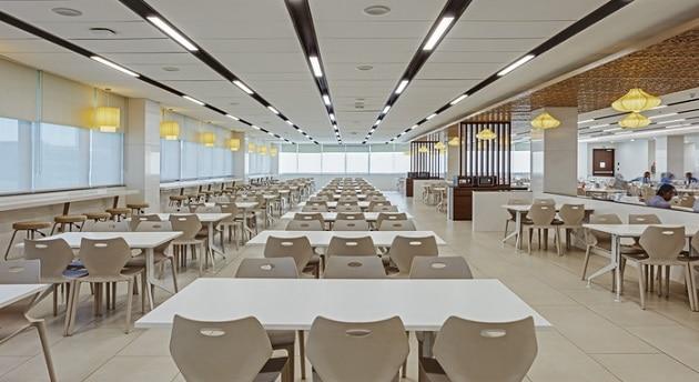 9-See inside pics of Reliance Jio Infocomm Headquarter's at Navi Mumbai
