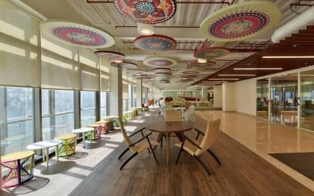 18-See inside pics of Reliance Jio Infocomm Headquarter's at Navi Mumbai