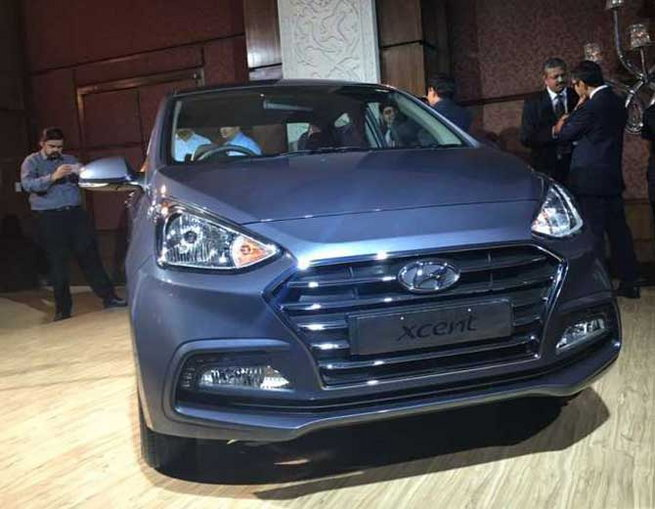 1-hyundai xcent facelift launched at rs 5 lakh 38 thousand