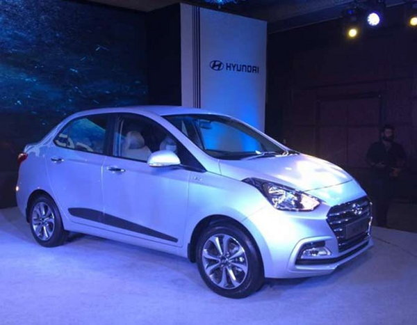 7-hyundai xcent facelift launched at rs 5 lakh 38 thousand