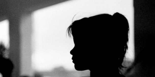 Silhouette Of Girls Face