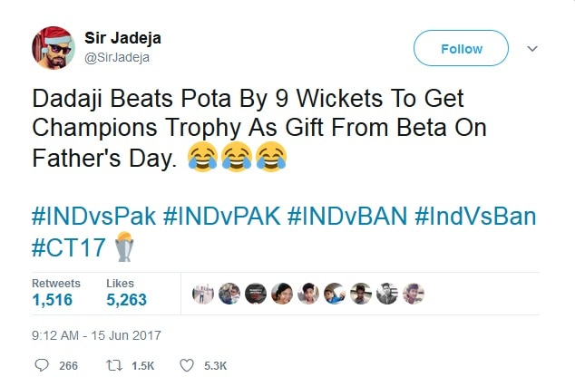 3-champions trophy funny jokes ahead of final clash between india and pakistan