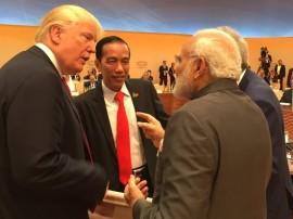 G-20 સંમેલનમાં ખુદ ટ્રંપે બૂમ પાડીને પીએમ મોદીને બોલાવ્યા, બન્ને વચ્ચે ઘણા મુદ્દાઓને લઈને થઈ વાતચીત
