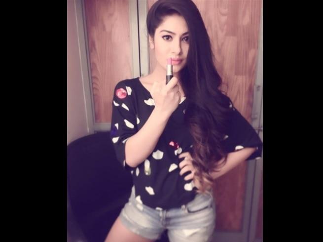 5-movie actress kamya punjabi goes topless to support lipstick under my burkha