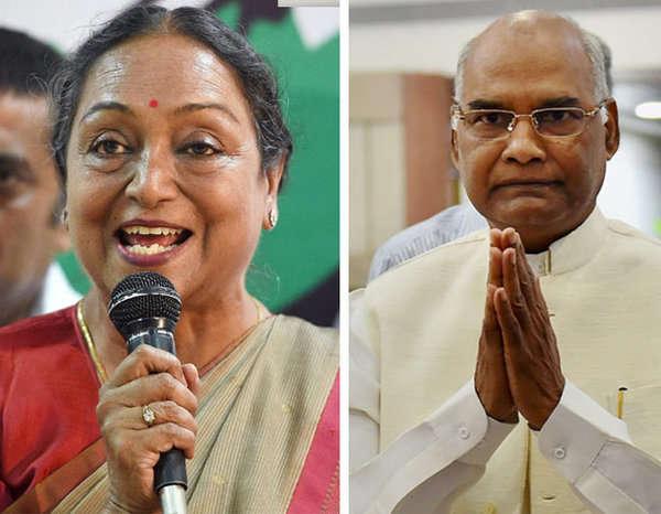2-presidential election kovind and meira nda upa congress bjp