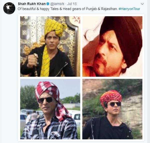 6-superstar shah rukh khan relishes rajasthani thali