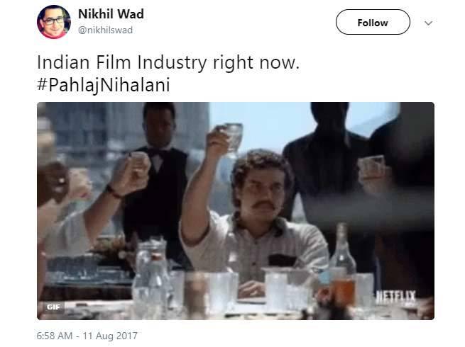 5-pahlaj nihalani replaced by prasoon joshi as censor board chief twitter reactions