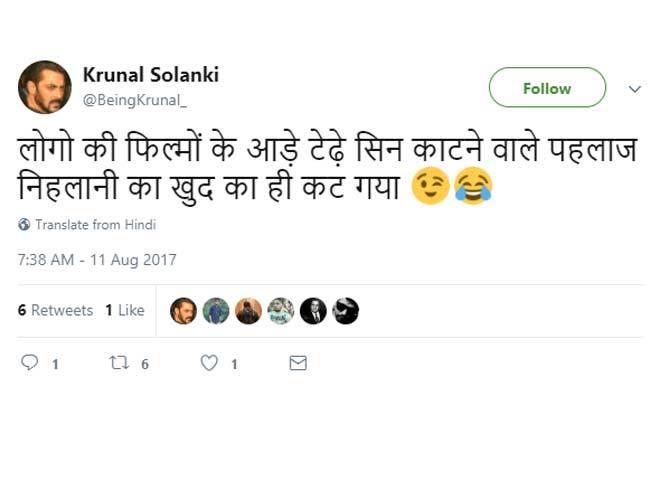 6-pahlaj nihalani replaced by prasoon joshi as censor board chief twitter reactions