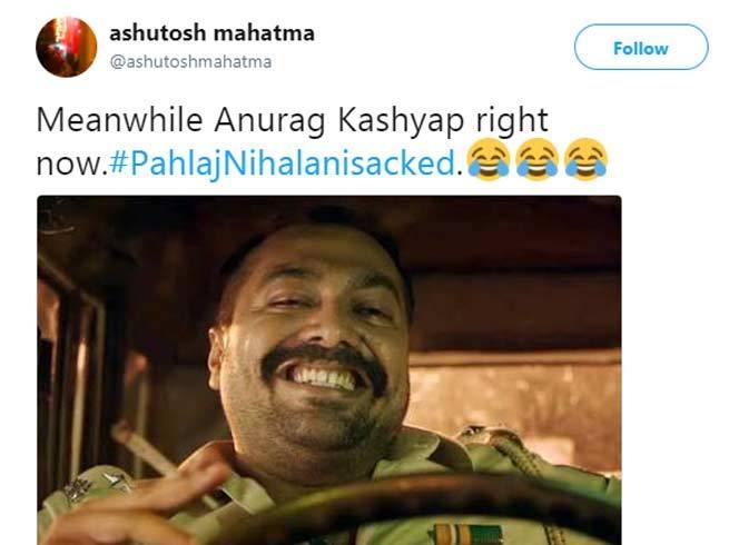 8-pahlaj nihalani replaced by prasoon joshi as censor board chief twitter reactions