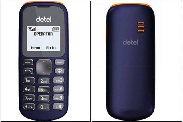 3-detel india launched single sim mobile at rs 299