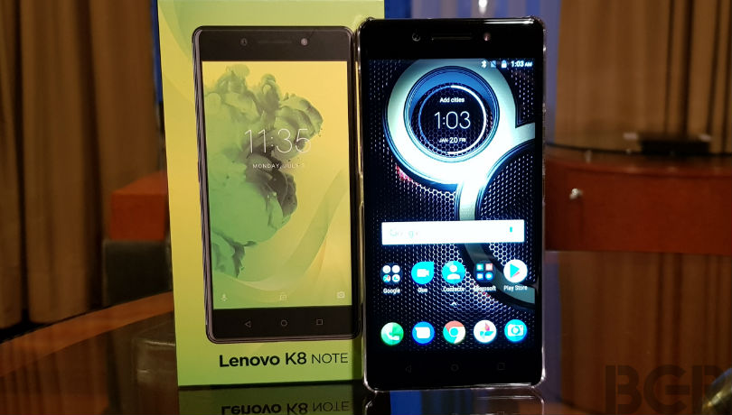 4-lenovo launches k8 note in india