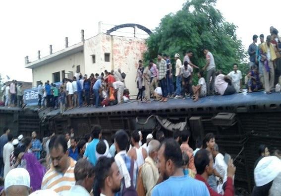 મુજફ્ફરનગરમાં મોટી ટ્રેન દુર્ઘટનાગ્રસ્ત, કાલિંગ-ઉત્કલ એક્સપ્રેસના 23 ડબ્બા પાટા પરથી ઉતર્યા, 6ના મોત,  400 ઘાયલ