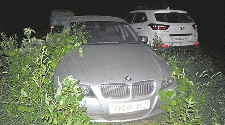 1-Ekam murder case Police fix punctures to produce BMW in court today