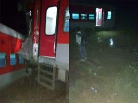 UPમાં વધુ એક ટ્રેન અકસ્માતઃ ડમ્પર સાથે ટકરાઈ કૈફિયત એક્સપ્રેસ, 10 ડબ્બા ખડી પડ્યા