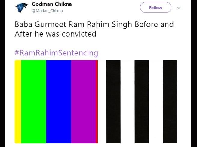 5-twitter trolls gurmeet ram rahim after he gets 20 years jail term