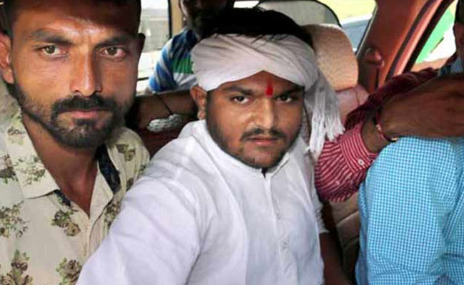 6-Hardik Patel, aide arrested in Gujarat on charges of assault, dacoity