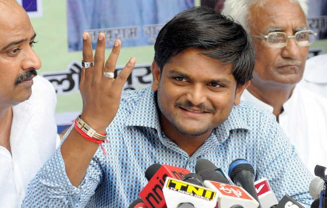 5-Hardik Patel, aide arrested in Gujarat on charges of assault, dacoity