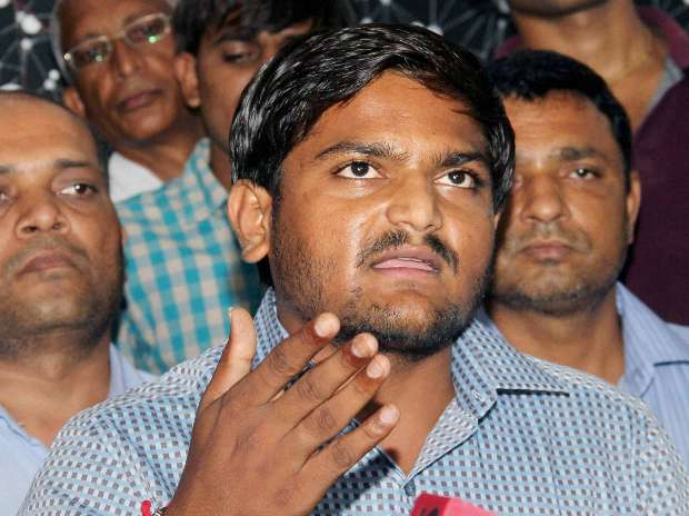 7-Hardik Patel, aide arrested in Gujarat on charges of assault, dacoity