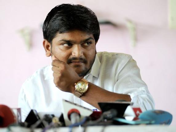9-Hardik Patel, aide arrested in Gujarat on charges of assault, dacoity