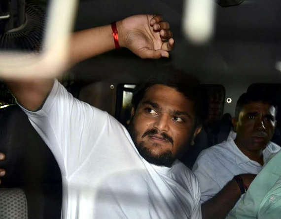 5-Patidar leader Hardik Patel, aide detained in 'assault' case, police get 3 day remand