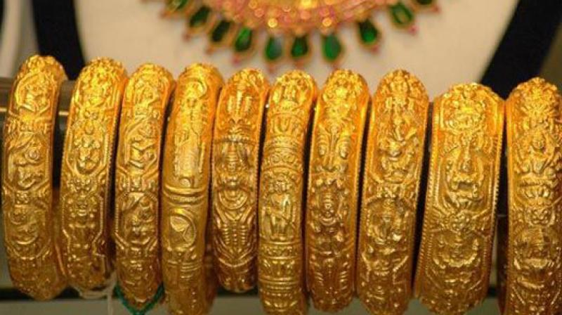 3-gold slumps to 10 mth low sheds rs 500 on global weakness