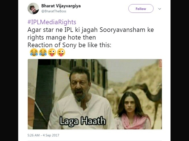 2-viral content this is how twitter reacts to star india winning ipl media rights