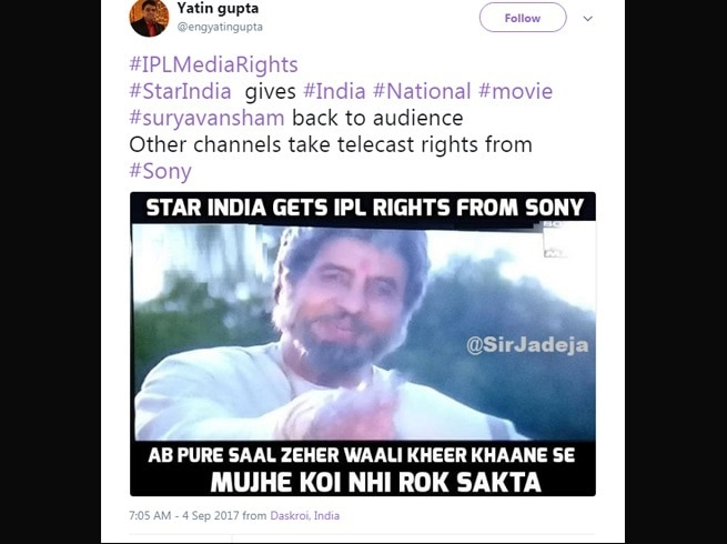 4-viral content this is how twitter reacts to star india winning ipl media rights