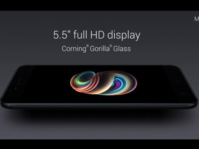 3-xiaomi launches mi a1 smartphone with dual camera