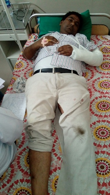 2-paas convener suresh thakare and satish patel attack at mehsana
