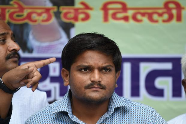 13-Hardik Patel, aide arrested in Gujarat on charges of assault, dacoity
