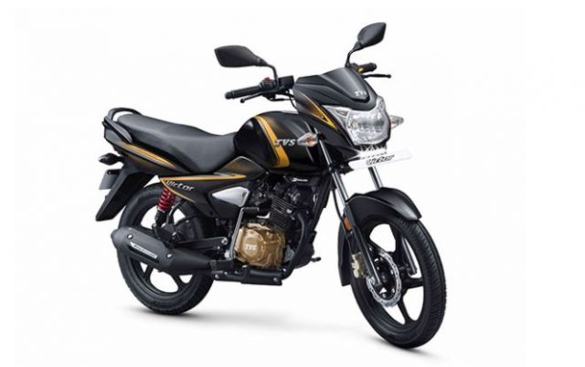 3-tvs victor premium edition model launched in india price and mileage is awesome