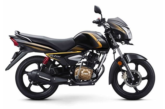 6-tvs victor premium edition model launched in india price and mileage is awesome