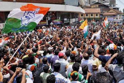Congress-supportersPTI