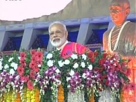 સરદાર સરોવર ડેમને બનતો રોકવા અનેક પ્રયાસ થયા, BSFના જવાનો સુધી પાણી પહોંચાડ્યુંઃ PM
