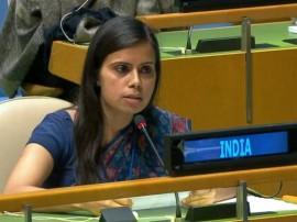 સંયુક્ત રાષ્ટ્રમાં ભારતનો પાકિસ્તાનને જડબાતોડ જવાબ- પાકિસ્તાન ટેરરિસ્તાન છે