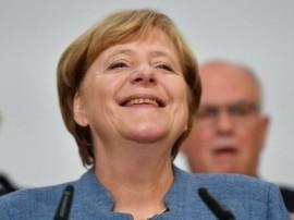 જર્મનીઃ એન્જલા મર્કલ ચોથી વખત બનશે ચાન્સેલર, ઇસ્લામની વિરોધી પાર્ટીની સંસદમાં એન્ટ્રી
