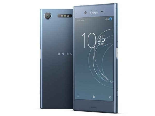 1-sony xperia xz1 with 3d scanning camera launched in india